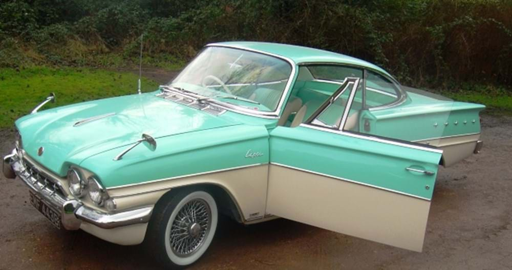 Lot 165 - 1964 Ford Consul Capri GT
