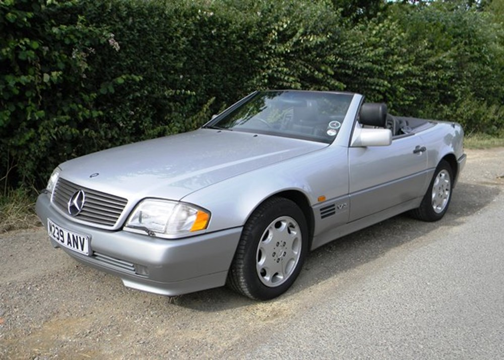Lot 427 - 1994 Mercedes-Benz SL600