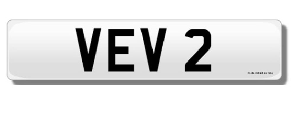 Lot 123 -   Number plate