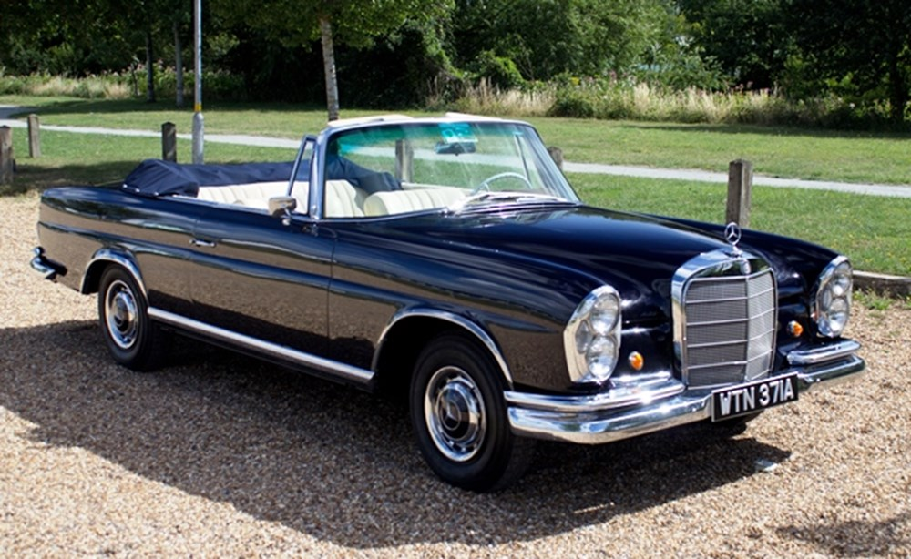 Lot 286 - 1964 Mercedes-Benz 220 SE Cabriolet