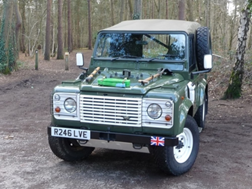 Lot 259 - 1998 Land Rover Defender Wolf XD90 (HD)