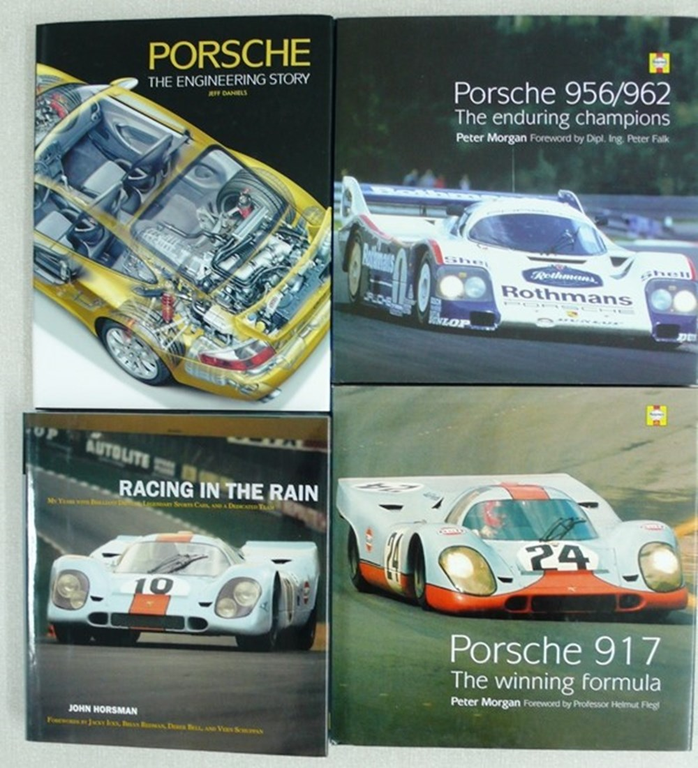 Lot 114 - Porsche books