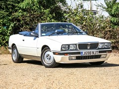 Navigate to Lot 266 - 1990 Maserati Bi-Turbo Spyder