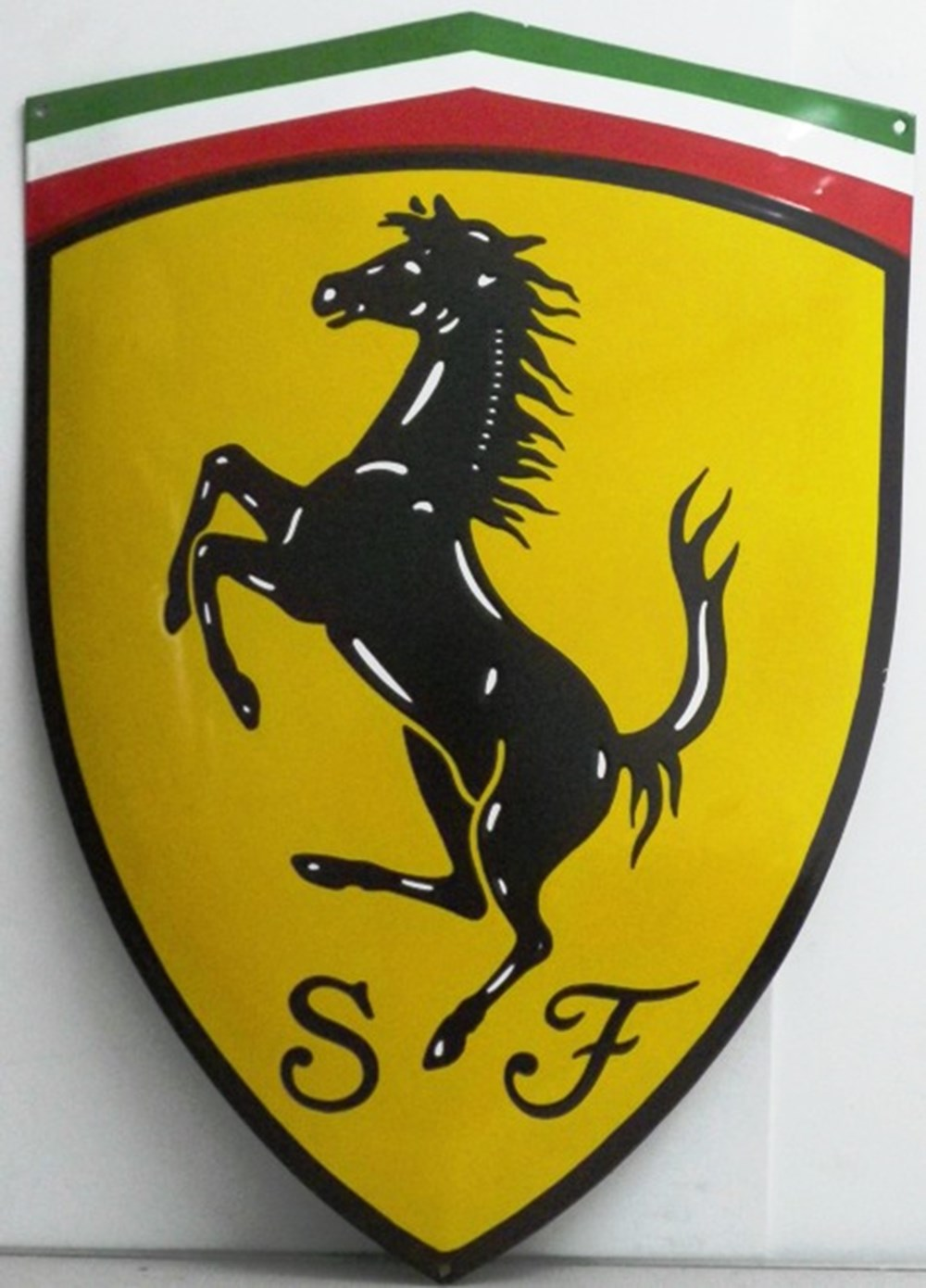 Lot 83 - Ferrari wall plaque.