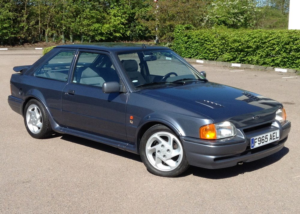 Lot 118 - 1988 Ford Escort RS Turbo S2