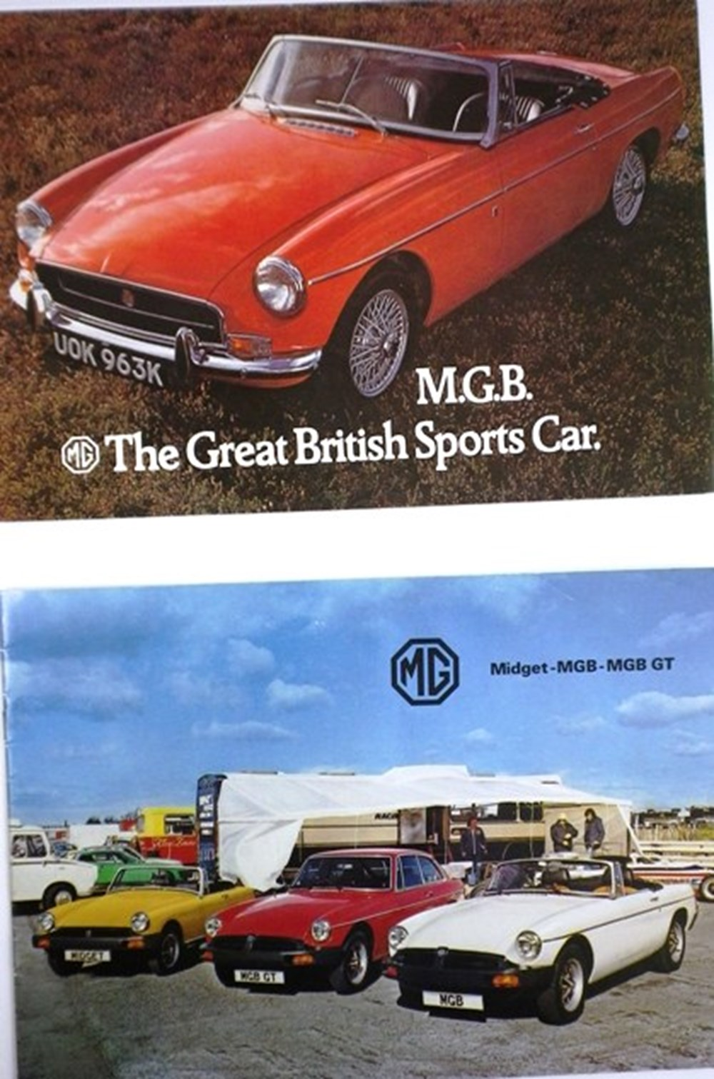 Lot 016 - MG related material