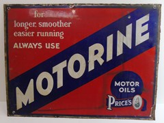 Navigate to Two enamel signs ...