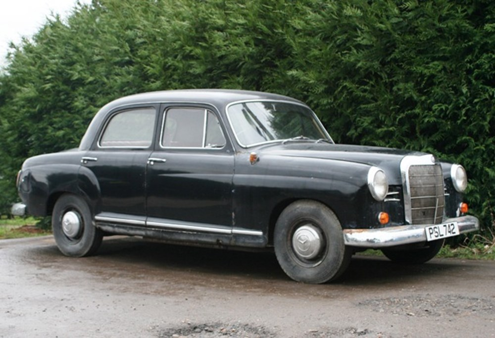 Lot 103 - 1960 Mercedes-Benz 190 Ponton