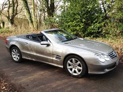 Navigate to Lot 330 - 2004 Mercedes-Benz 350SL Roadster