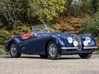 Ref 53 1954 Jaguar XK120 Roadster 'Fast road'