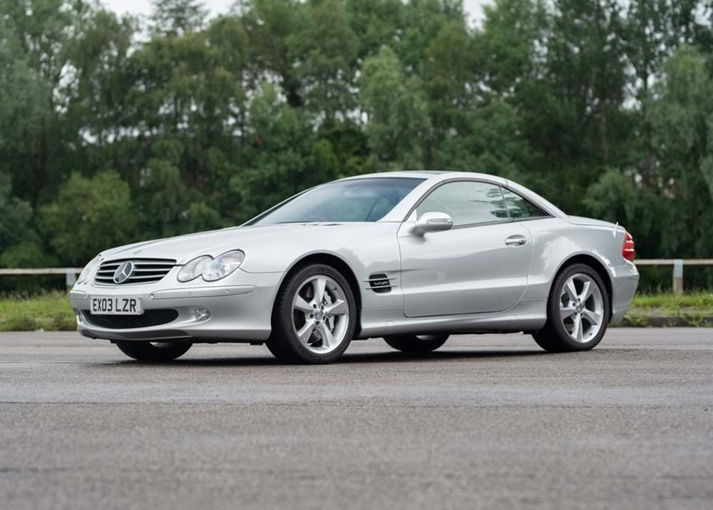 Lot 262 - 2003 Mercedes-Benz SL600 Roadster