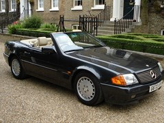 Navigate to Lot 274 - 1989 12987 500SL (The Press car)