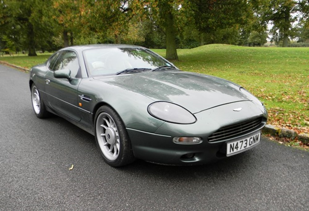 Lot 229 - 1996 Aston Martin DB7 Coupé