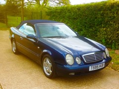 Navigate to Lot 260 - 1999 Mercedes-Benz 230CLK Elegance Convertible