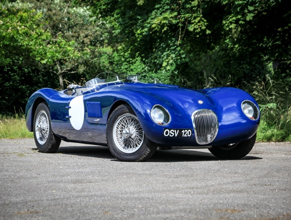 Lot 285 - 1987/1967 Jaguar C-Type Recreation by Proteus