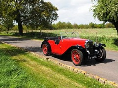 Navigate to Lot 321 - 1934 Alvis Firefly Open Tourer