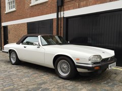 Navigate to Lot 207 - 1988 Jaguar XJS Convertible