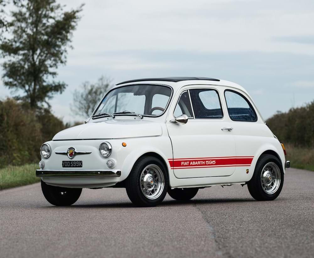 Car Auctions Online >> Ref 52 1972 Fiat Abarth 595 EsseEsse Recreation