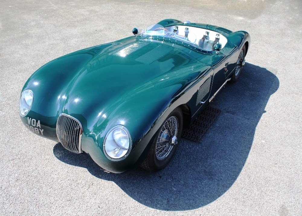 Lot 254 - 1951 Jaguar C-Type Recreation by Nostalgia *WITHDRAWN*