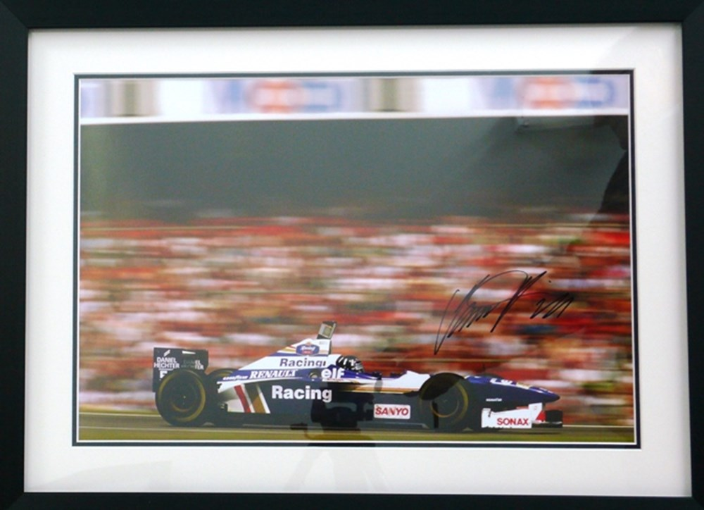 Lot 098 - Damon Hill/Williams