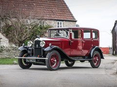 Navigate to Lot 197 - 1929 Vauxhall 20/60 T-Type Richmond Saloon