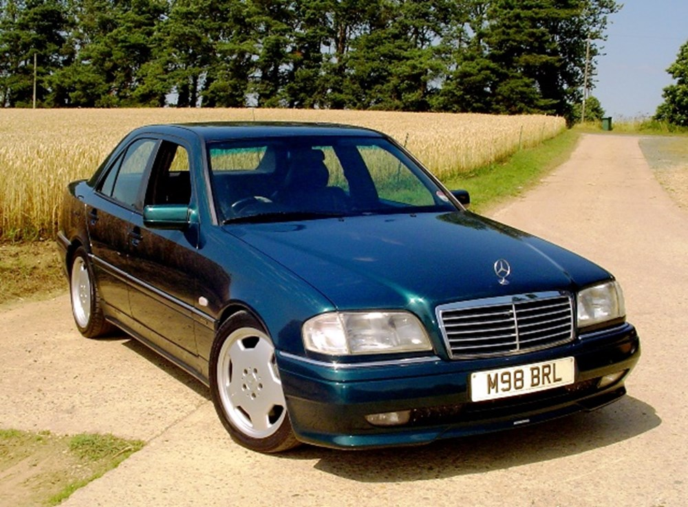 Lot 350 - 1995 Mercedes-Benz C36 AMG