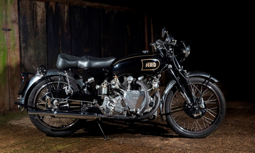 Lot 205 - 1949 Vincent Rapide Series B