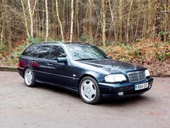 Navigate to Lot 229 - 1998 Mercedes-Benz C43 AMG Estate