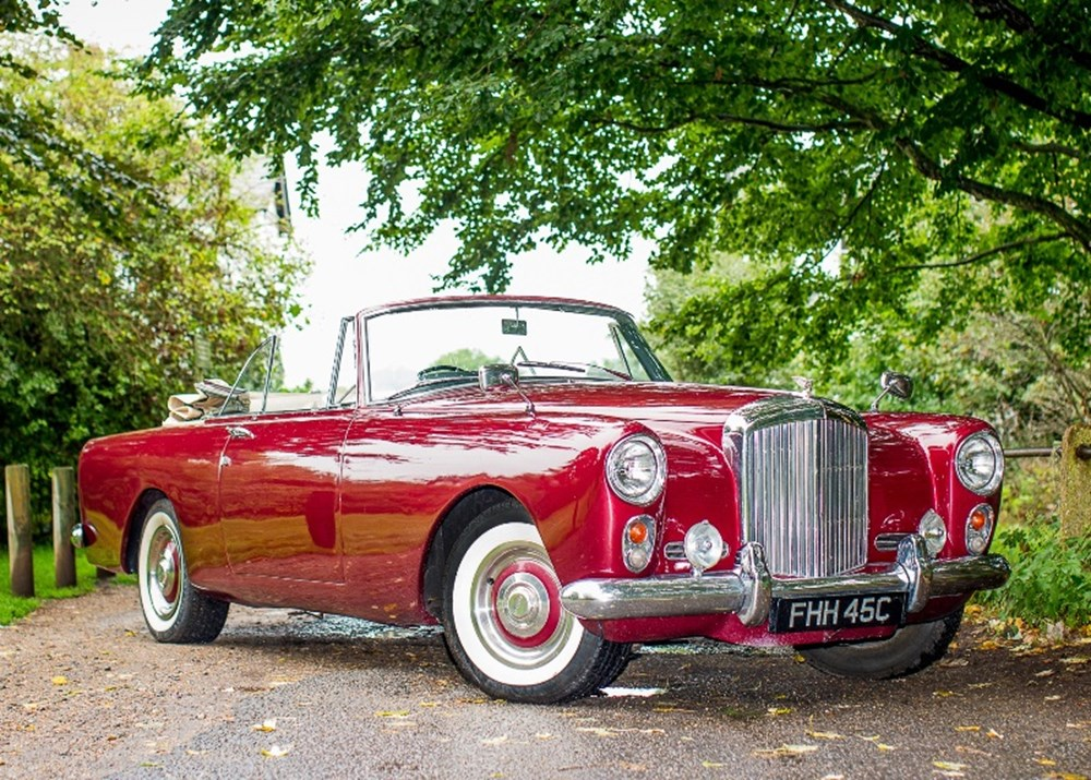 Lot 192 - 1962 Bentley S2 Continental Drophead Coupé by Park Ward