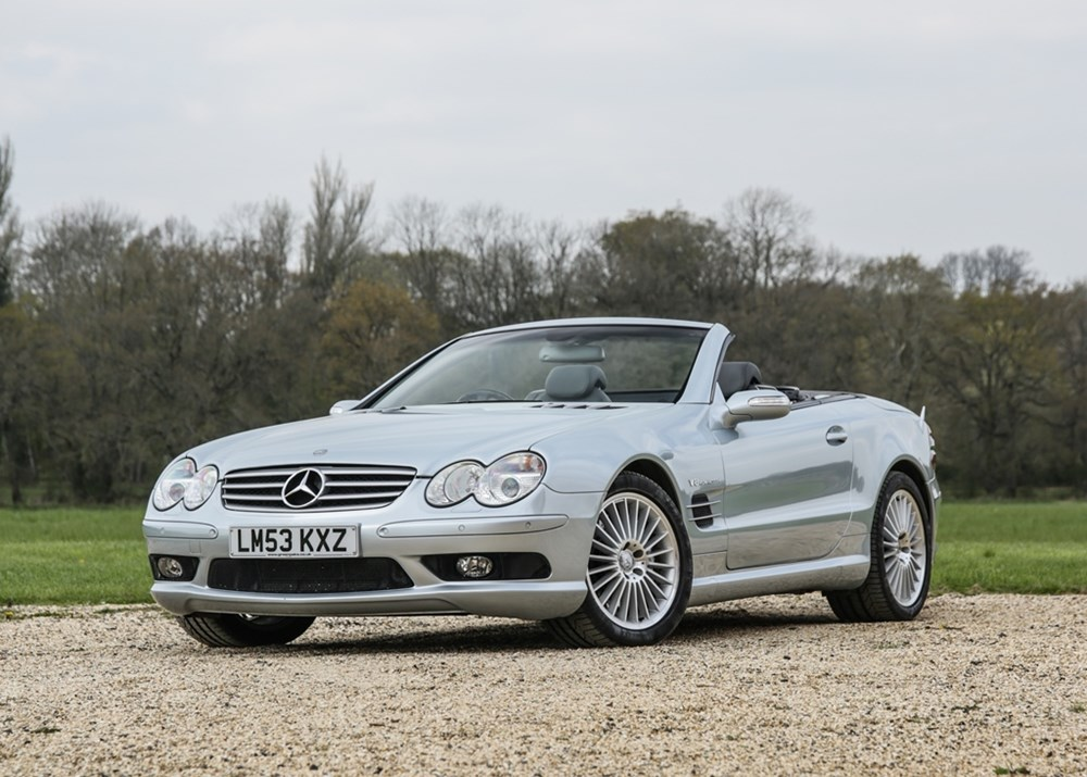 Lot 187 - 2004 Mercedes-Benz SL55 AMG