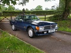 Navigate to Lot 251 - 1987 Mercedes-Benz 420 SL Roadster