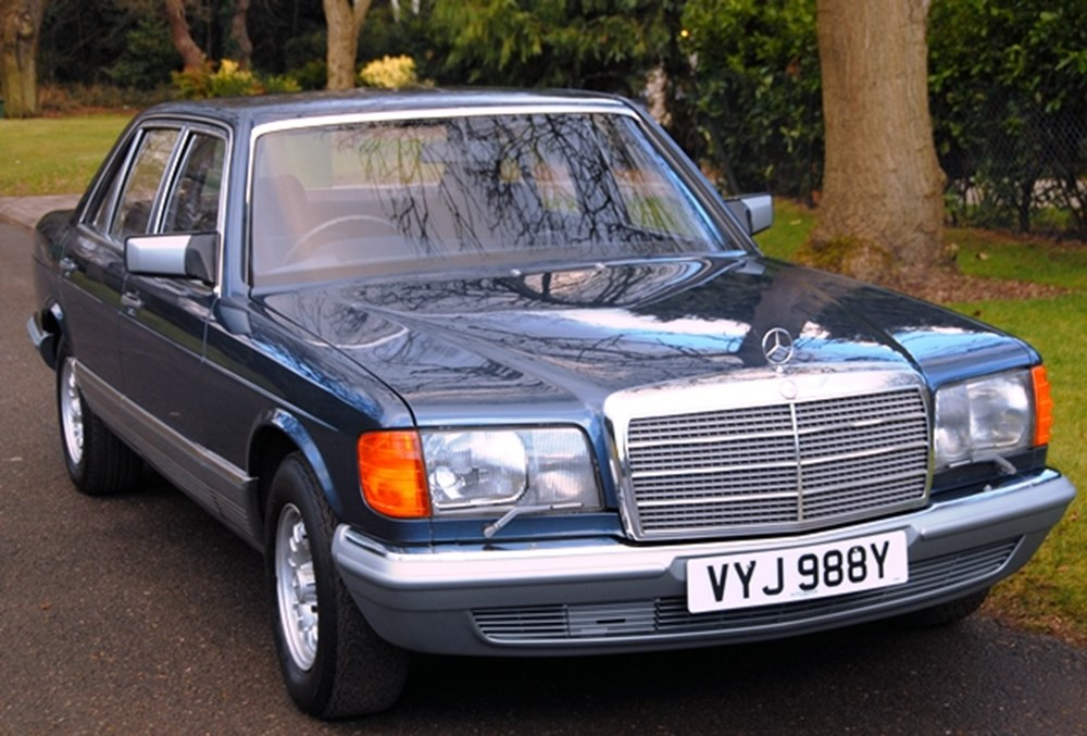 Lot 224 - 1982 Mercedes-Benz 500SEL