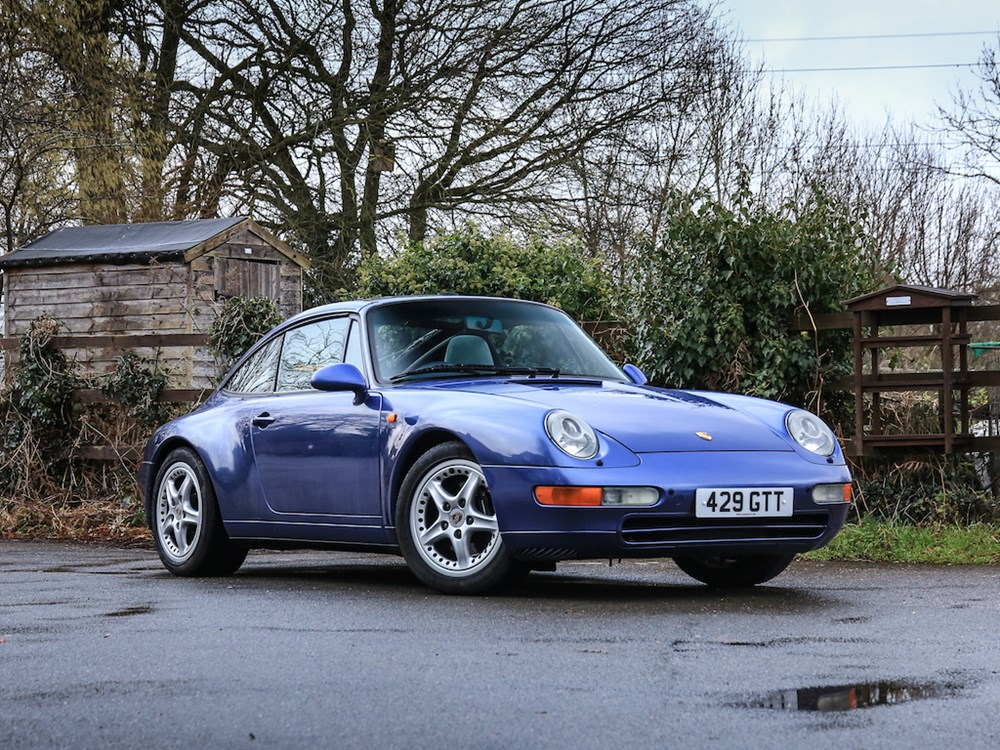 Lot 328 - 1996 Porsche 911 / 993 Targa Tiptronic S