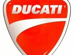 Navigate to Ducati sign.