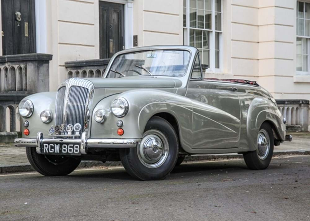Lot 159 - 1955 Daimler Conquest Drophead Coupé