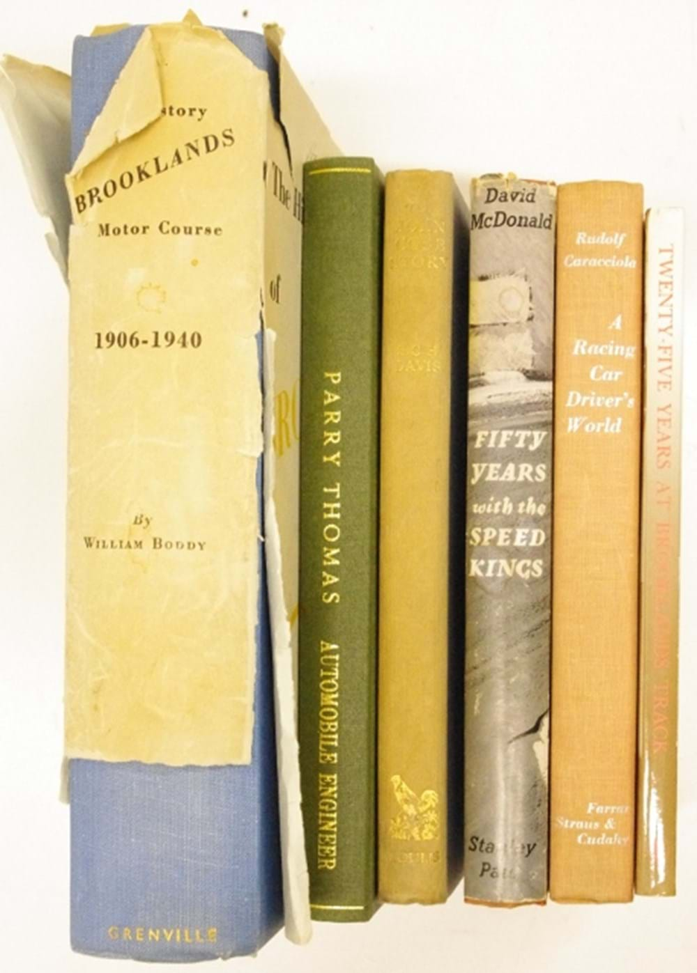 Lot 23. - Six motoring books