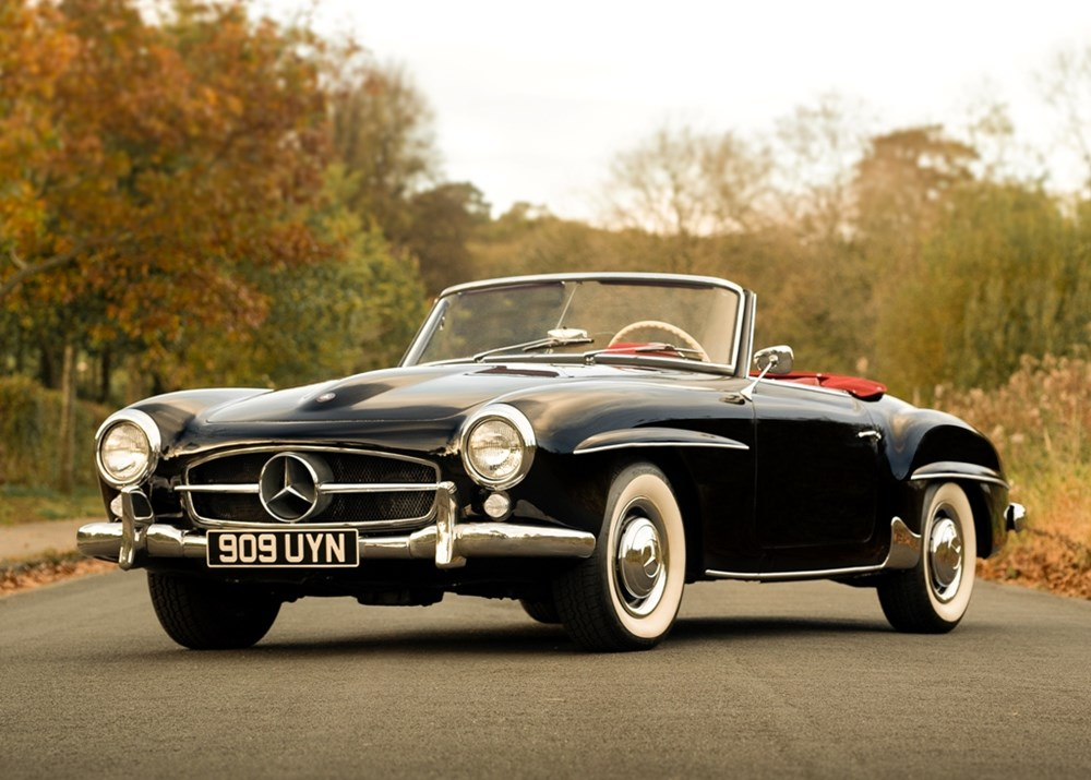 Lot 302 - 1959 Mercedes-Benz 190 SL Roadster
