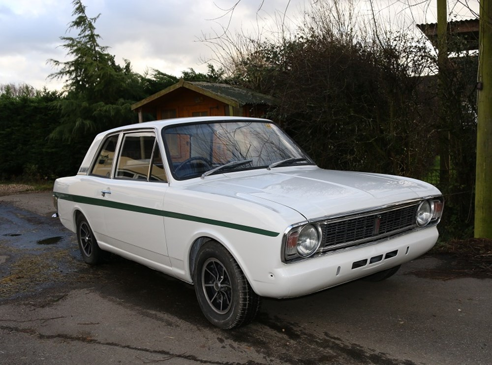 Lot 229 - 1968 Ford Cortina Lotus Mk. II