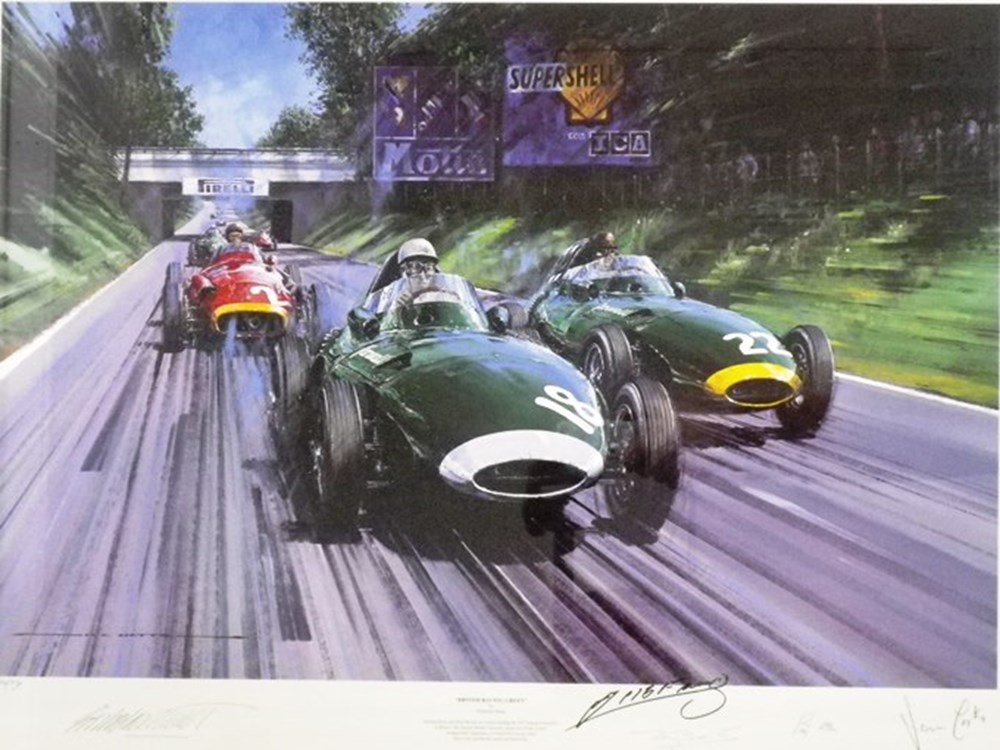Lot 107 - British Racing Green Limited Edition Print