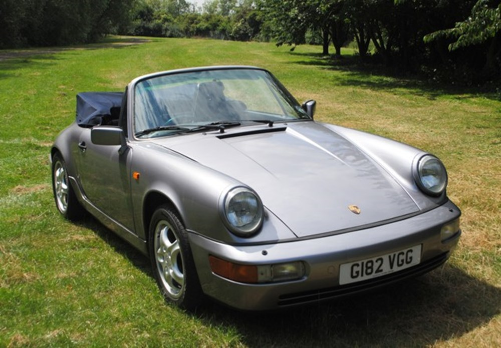 Lot 214 - 1990 13028 911 Carrera 2 Cabriolet