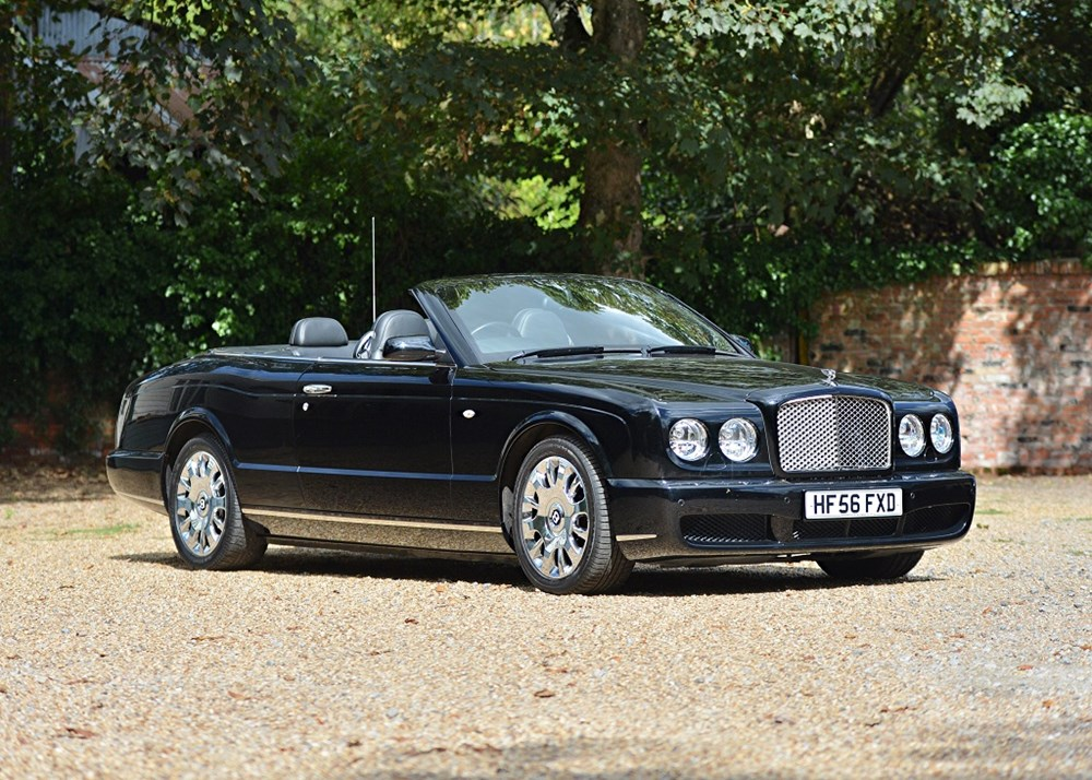 ref 68 2006 bentley azure - classic & sports car auctioneers