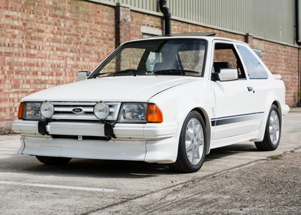 Lot 175 - 1986 Ford Escort RS Turbo Series 1