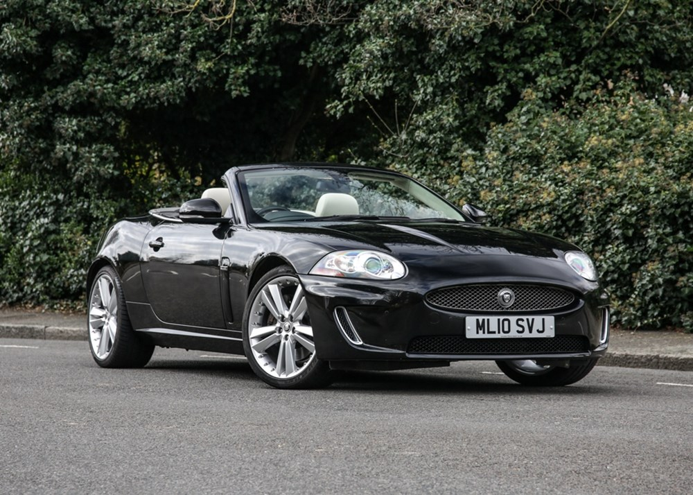Lot 123 - 2010 Jaguar XK Convertible ' Portfolio'