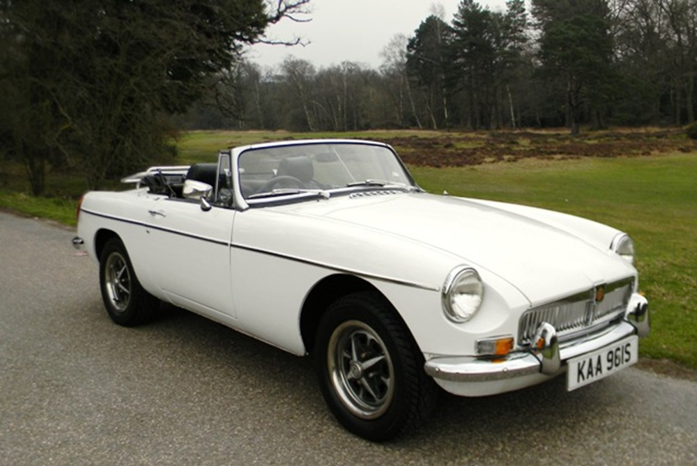 Lot 401 - 1978 MG B Roadster
