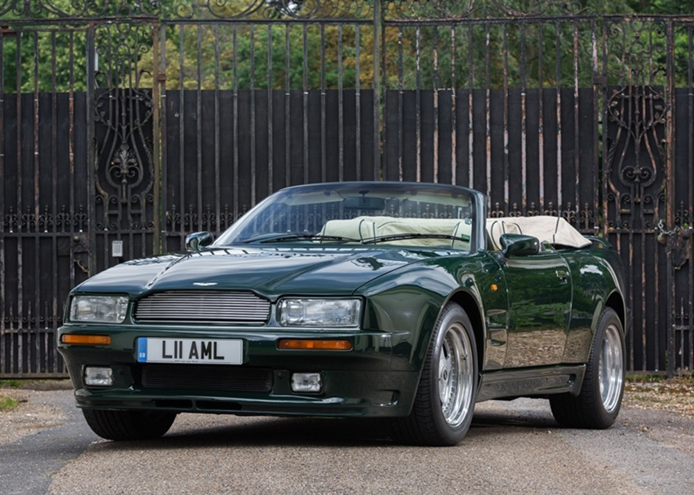 Lot 214 - 1994 Aston Martin Virage 'Widebody' Volante (6.3 litre)