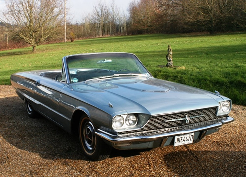 Lot 296 - 1966 Ford Thunderbird Convertible