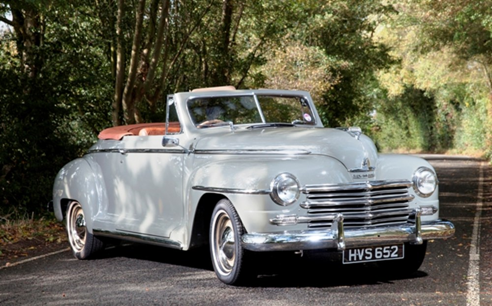 Lot 290 - 1948 Plymouth Special Deluxe Convertible