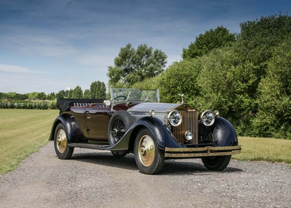 Lot 211 - 1929 Rolls-Royce Phantom II Open Tourer by Barker