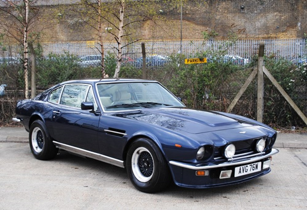 1981 aston martin v8 vantage classic sports car auctioneers. Black Bedroom Furniture Sets. Home Design Ideas