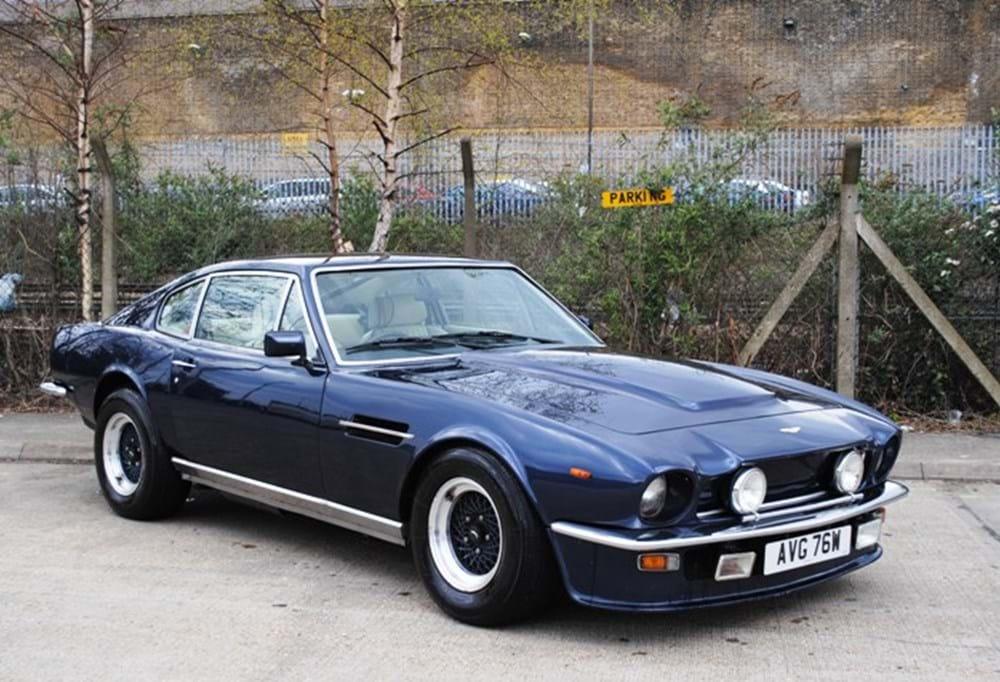 1981 aston martin v8 vantage classic sports car auctioneers. Black Bedroom Furniture Sets. Home Design Ideas